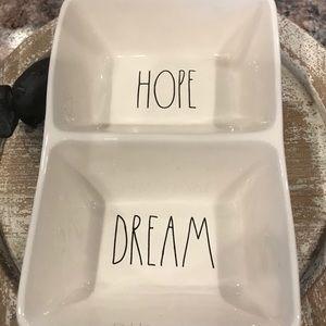 🎃 SALE Rae Dunn Hope Dream Tray Dish Really Nice